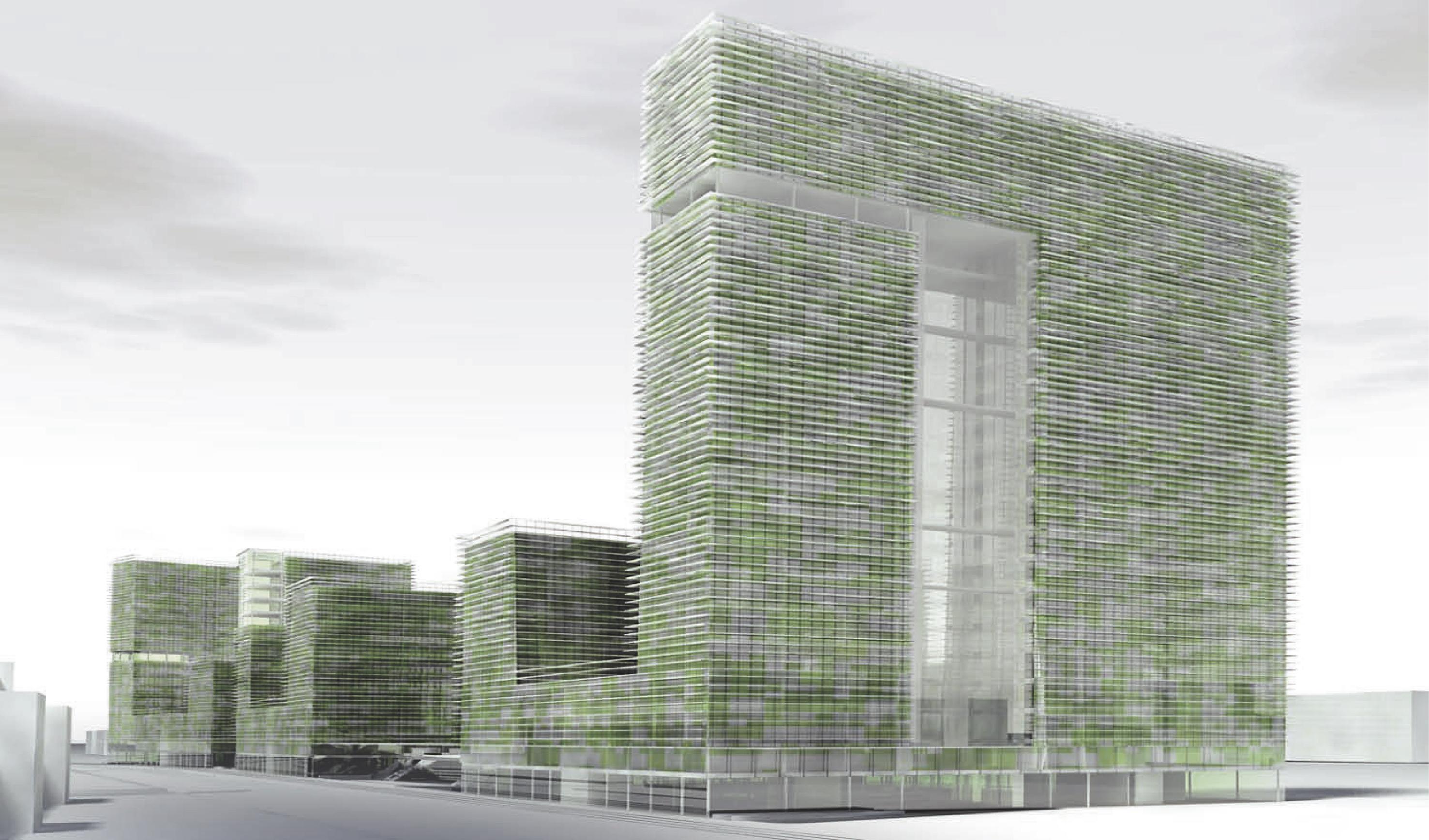 Entwurf eines Bürokomplexes