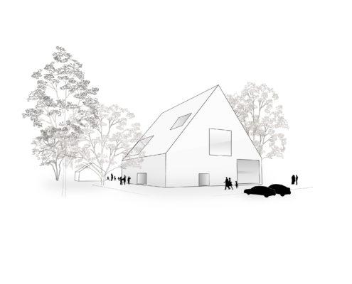 Entwurf eines Kulturbaus
